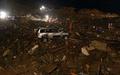 中国で地滑り、死者15人 高さ600メートルの小山崩れる