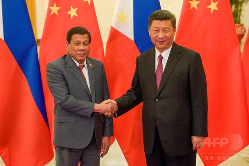 比大統領、南シナ海で中国・ベトナムとの共同資源開発に前向き