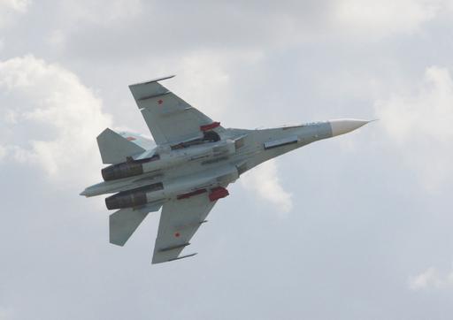 ベラルーシ空軍戦闘機が墜落、航空ショー中にバードストライクで