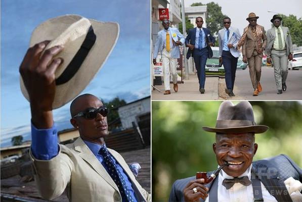 コンゴ共和国「サプール」にフィーチャー、大丸・松坂屋4店舗で巡回展