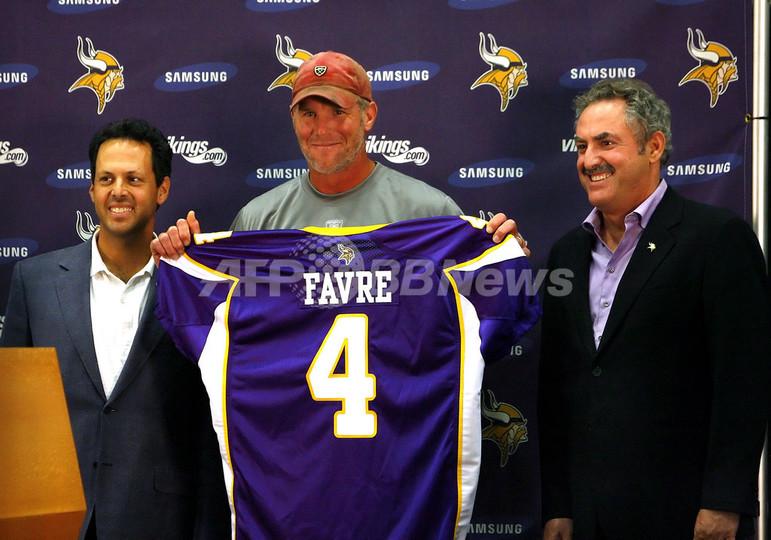 ファーヴがバイキングスと契約、2度目の引退撤回