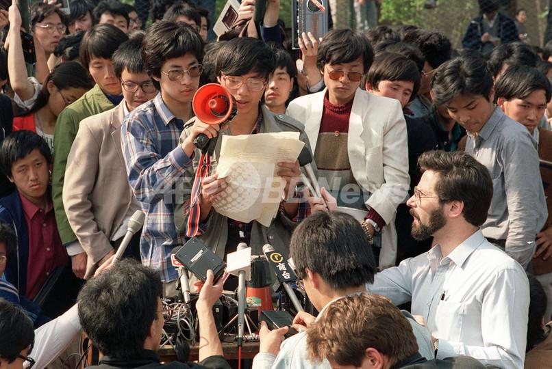 天安門事件から4日で20年、元学生リーダー王丹氏が心境を吐露