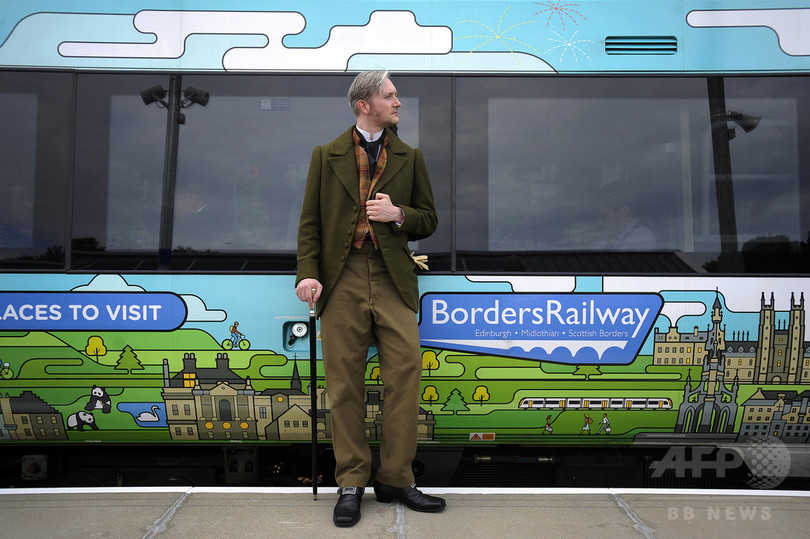 スコットランド「ウォルター・スコット特急」46年ぶり復活