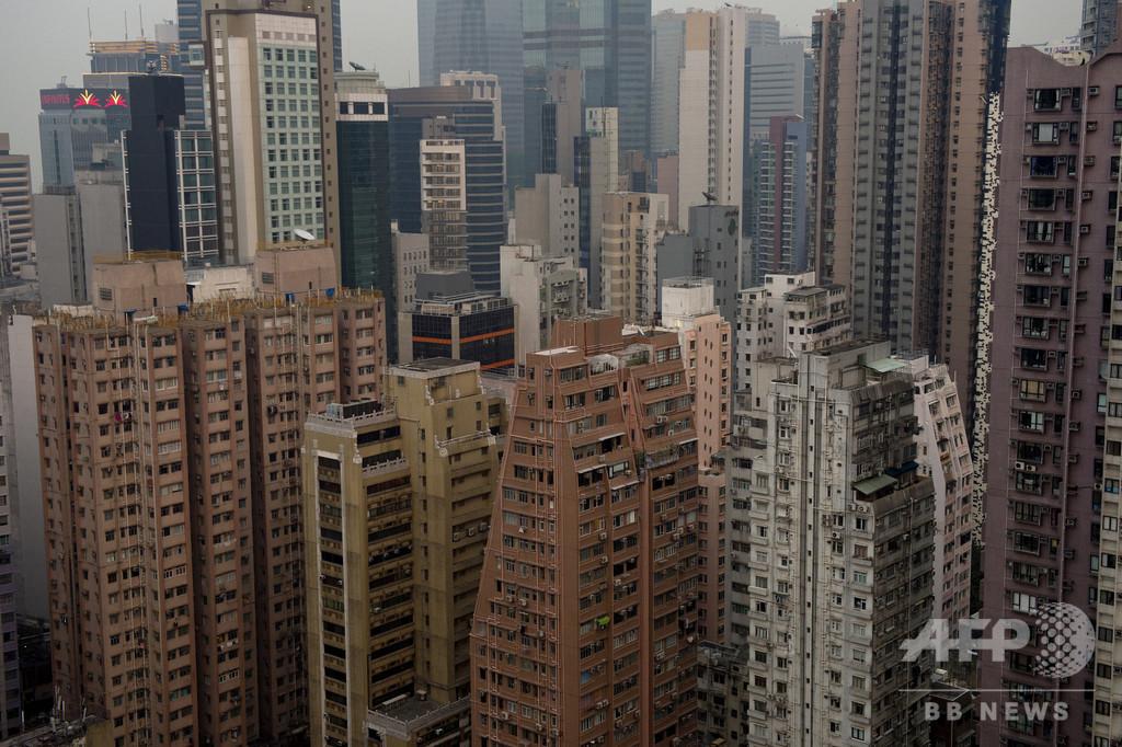 香港、約8.8兆円で人工島建設へ 住宅不足解消目指す