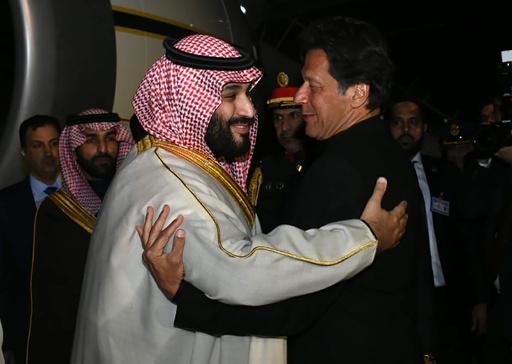 サウジ皇太子がアジア歴訪開始 パキスタンで2.2兆円の投資合意
