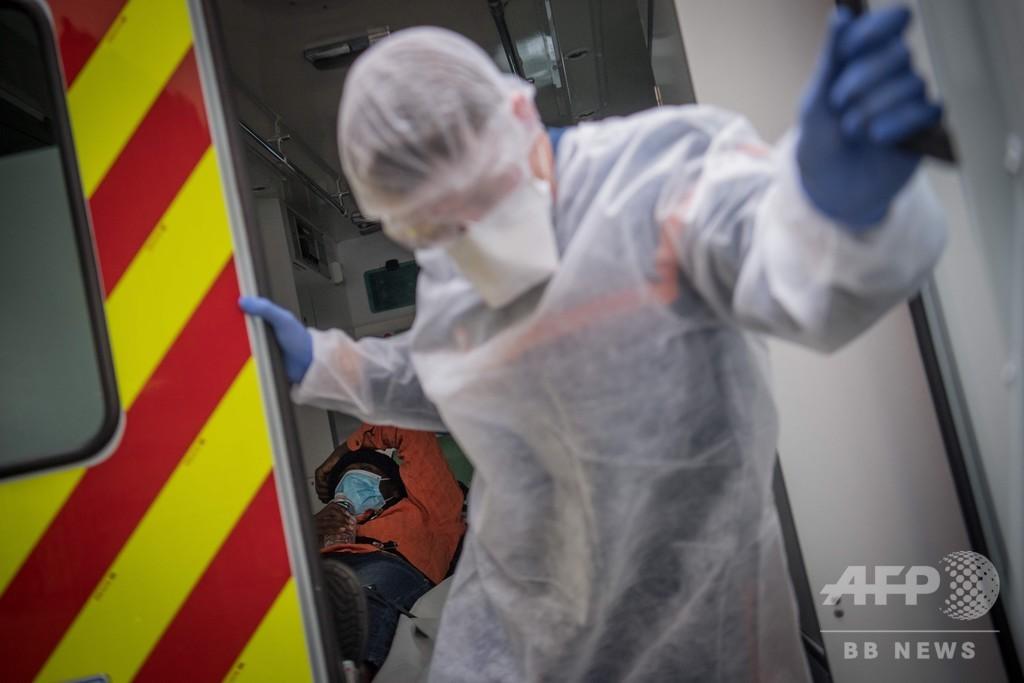 コロナ死者、仏で1万人突破 英とNYの増加数、過去最大に