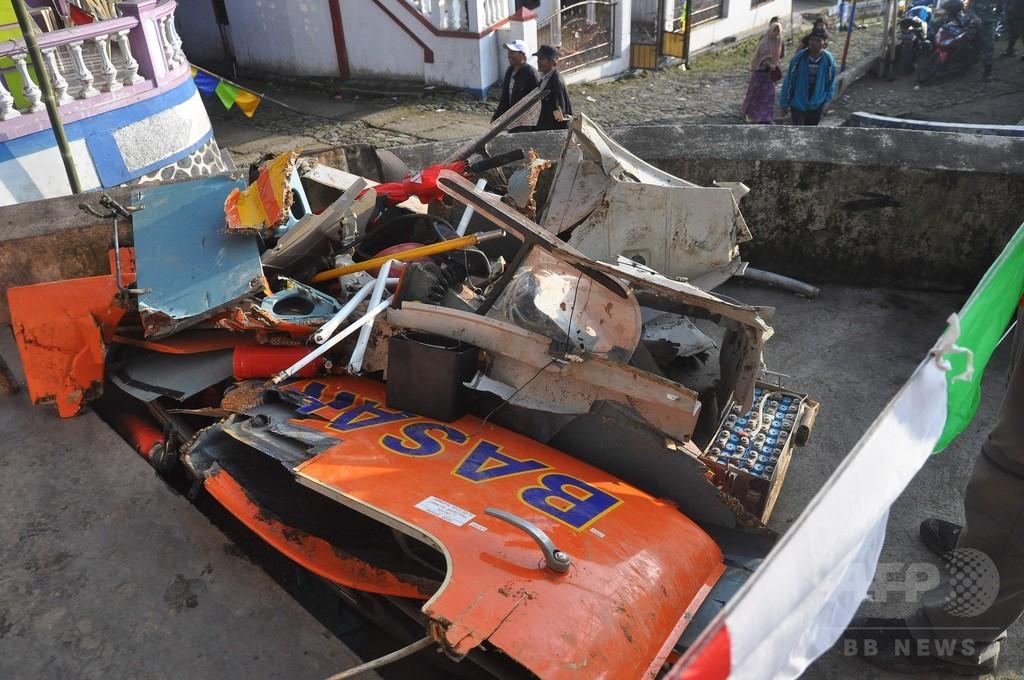 救助ヘリ墜落、乗員8人全員死亡 インドネシア・ジャワ島