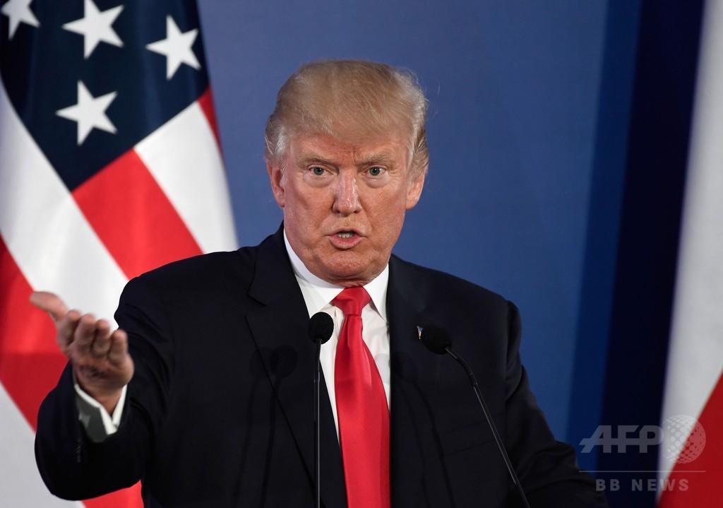 トランプ氏、米大統領選へのロシア介入の可能性認める
