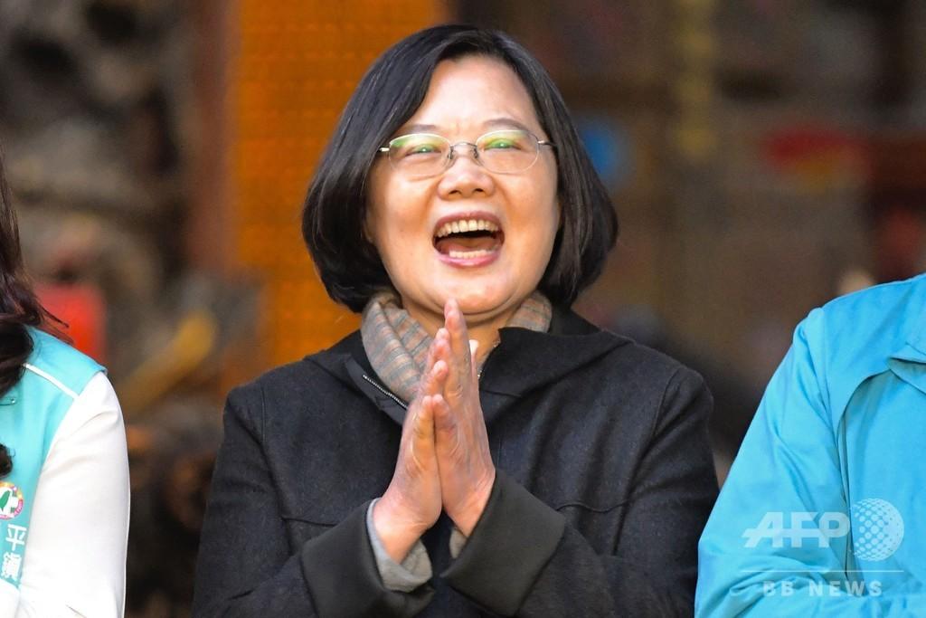 台湾で中国の干渉阻止する「反浸透法」成立、総統選迫る中