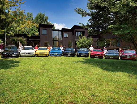 【ENGINE・ハウス】2台のマセラティ・シャマルと軽井沢の家 週末はイタ車仲間が集まってくる!