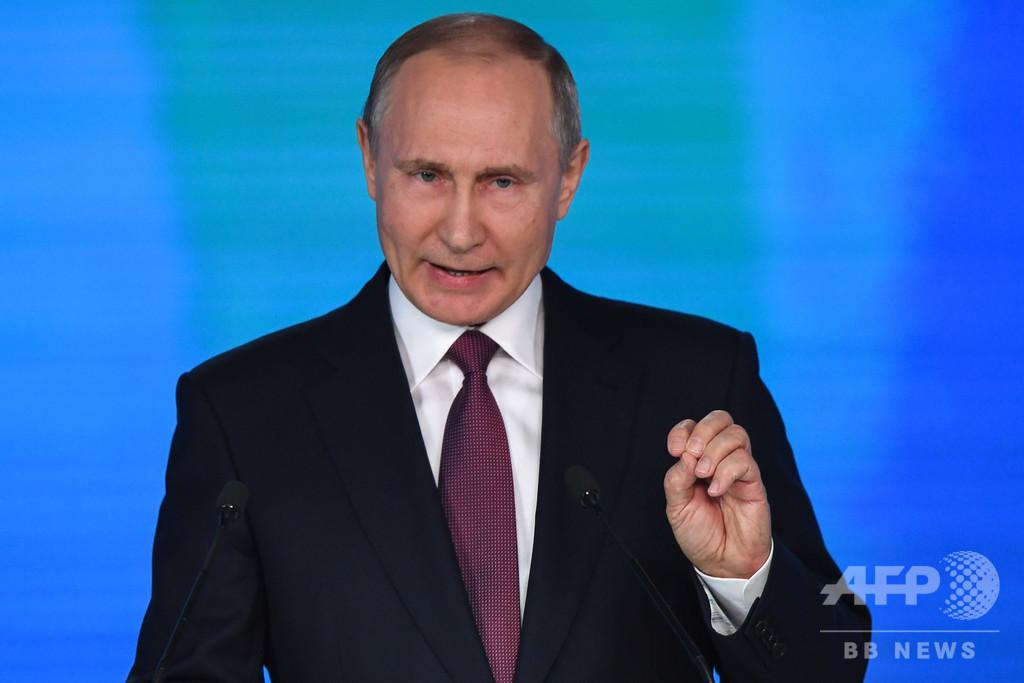 ロシア、極超音速ミサイル試射に「成功」 来年実戦配備へ