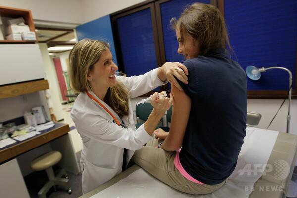 HPVがん、米国で増加傾向 若者のワクチン接種率低く