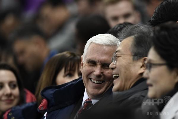 米韓は結束して北朝鮮の核開発計画に立ち向かう、ペンス米副大統領