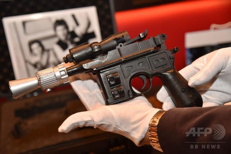 『ジェダイの帰還』でハン・ソロが使った銃、来月競売に