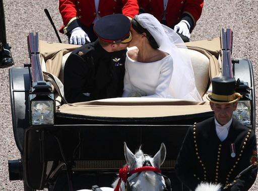 【写真特集】英国のヘンリー王子とメーガン妃