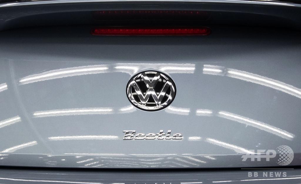 ナチスの象徴と並ぶビートルの写真、VW メキシコ代理店との契約打ち切り