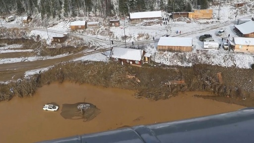 動画:ロシアの金鉱で違法ダム決壊、15人死亡 13人が行方不明に