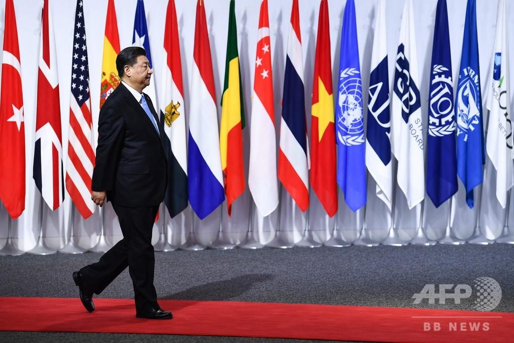 習主席、保護貿易主義や「いじめ」を批判 アフリカ首脳との会談で 大阪