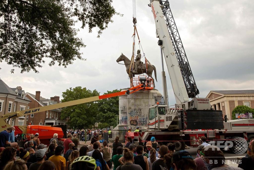 南部連合の将軍像や意匠あしらった州旗を撤去、米