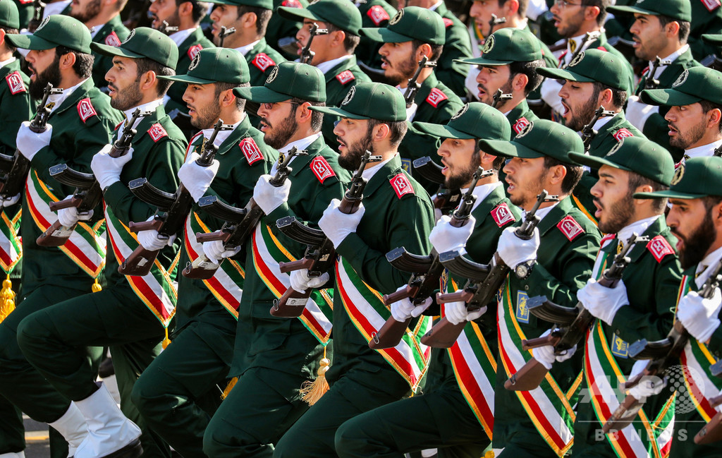 米政府、イランの革命防衛隊を「テロ組織」に指定へ 8日に発表か 米紙報道