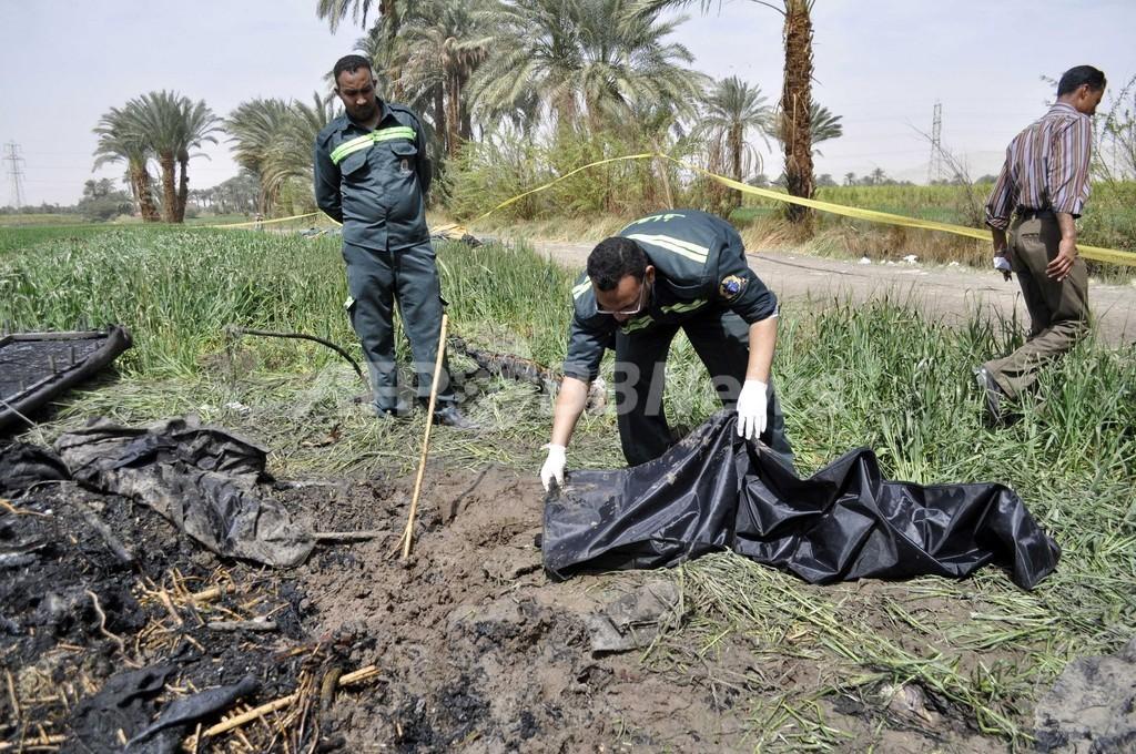 エジプトの熱気球爆発、日本人4人含む19人死亡