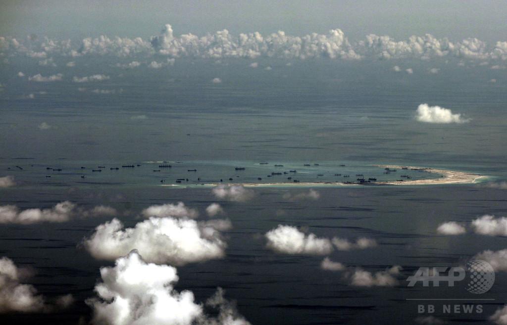 比軍、ドゥテルテ大統領の南沙諸島「占領」発言をトーンダウン