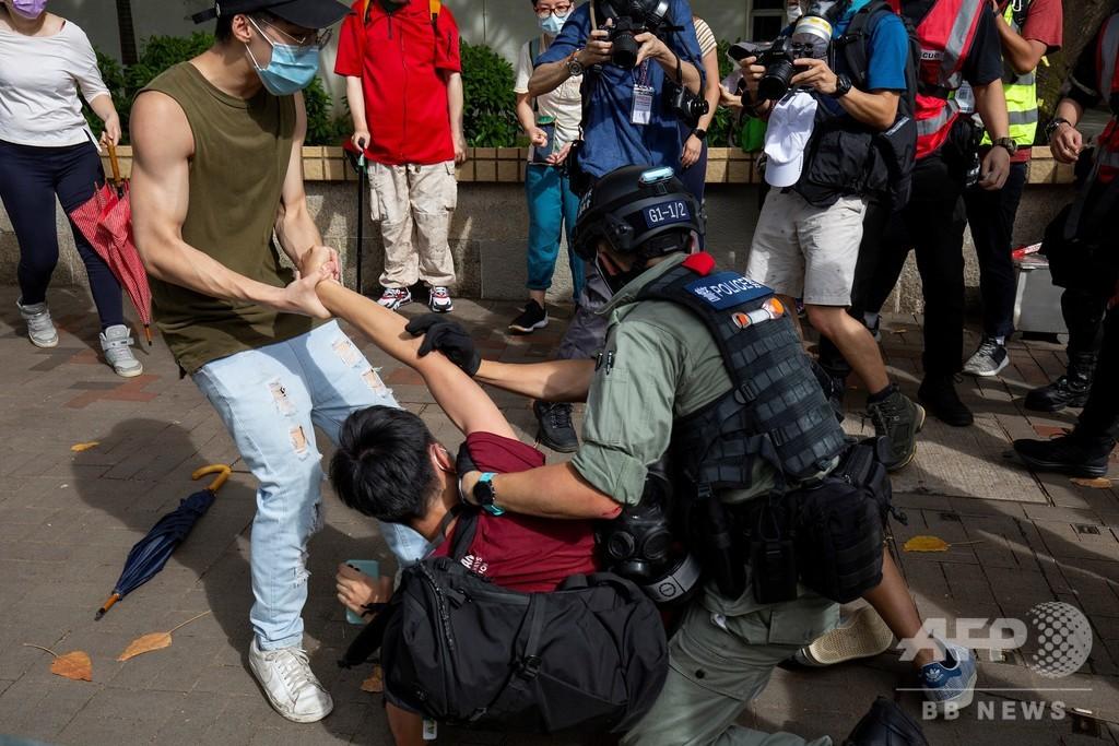 カナダ政府、香港滞在の自国民に「恣意的な拘束」のリスク警告