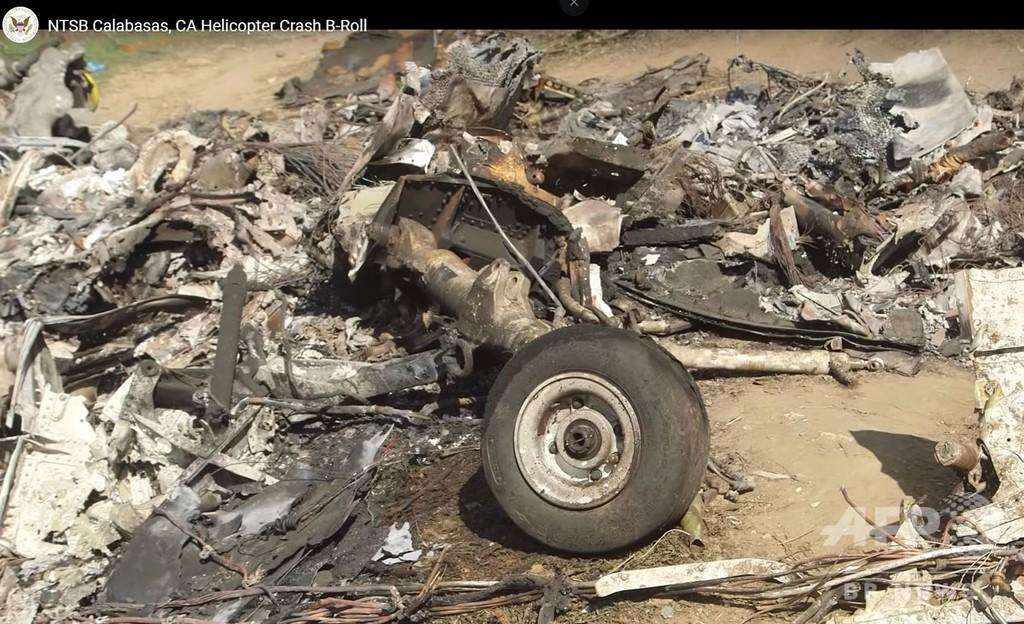 コービー氏の遺体を確認、9人死亡のヘリ墜落事故