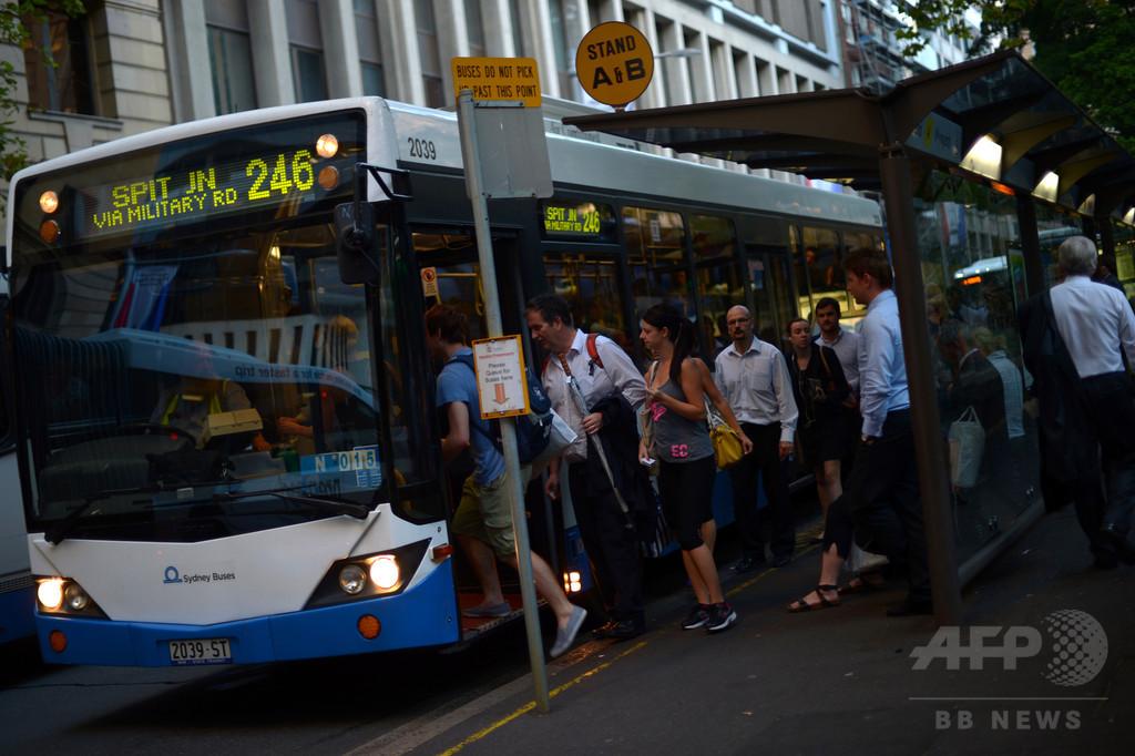 バスで乗客が運転手を焼殺 オーストラリア