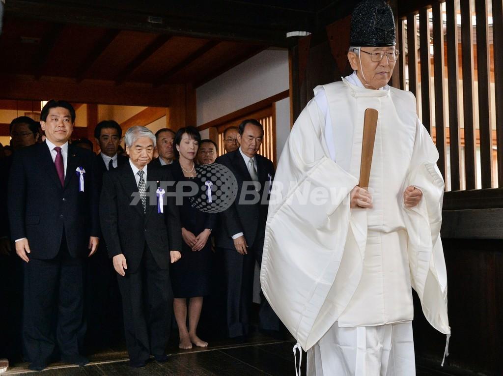 中国、閣僚らの靖国参拝に日本大使呼び抗議