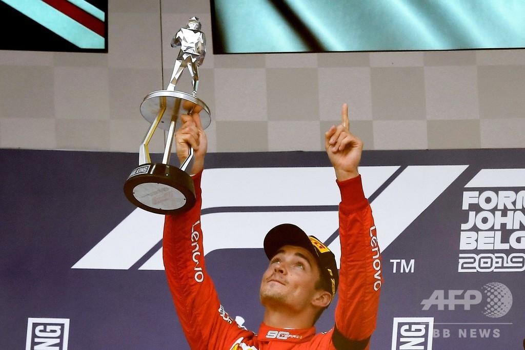 ルクレールが天国のユベールにささげる初勝利、ベルギーGP