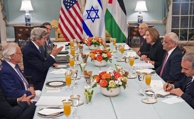 イスラエルとパレスチナ、和平直接交渉が約3年ぶりに再開