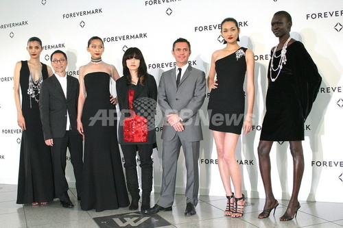 Forevermark、プレシャスコレクションを日本で初披露