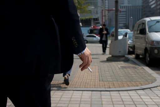 韓国国保、たばこ3社を提訴 医療費負担で賠償請求