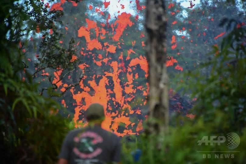 米ハワイでM6.9の地震、キラウエア火山がまた噴火