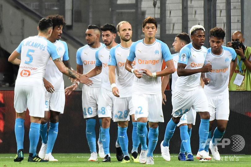 リーグ1開幕戦はマルセイユが4発快勝、監督も「完璧な一夜」と絶賛