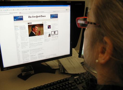 米紙ニューヨーク・タイムズ、来年から電子版記事を有料化へ