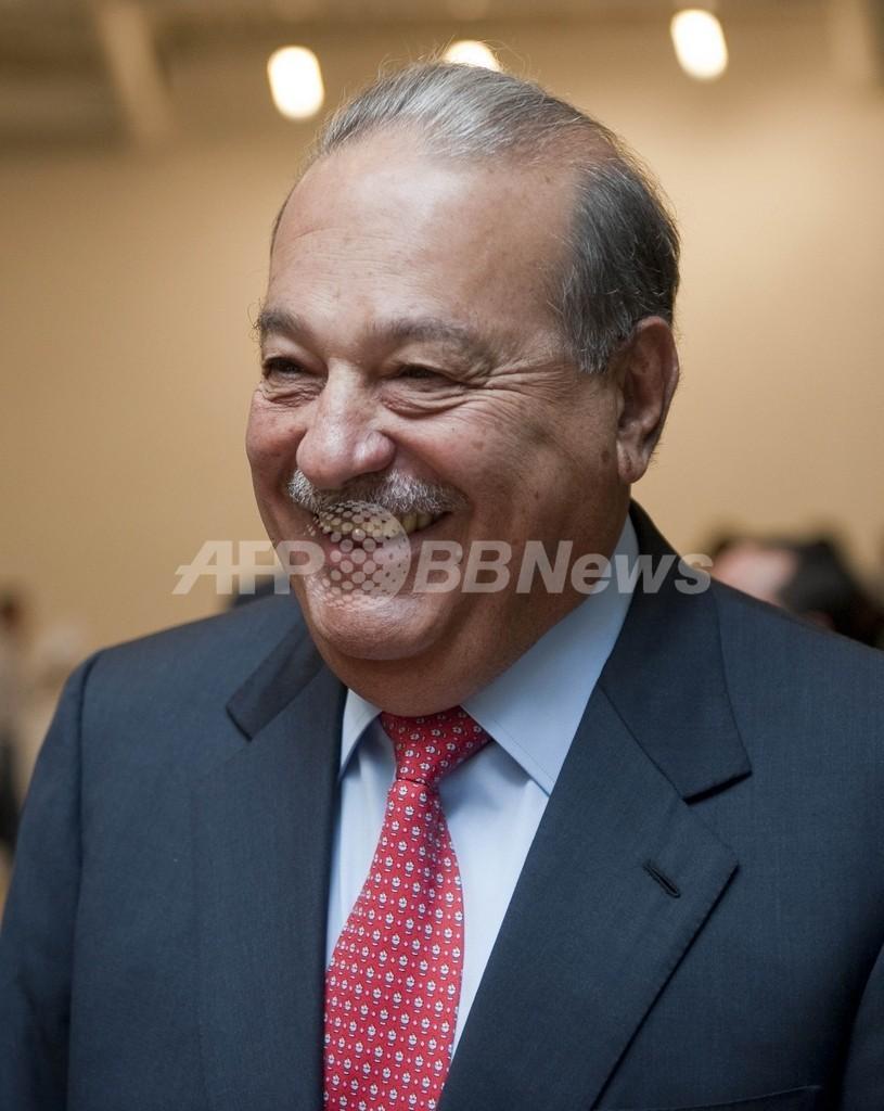フォーブス誌の長者番付、メキシコ通信王スリム氏が3年連続で首位