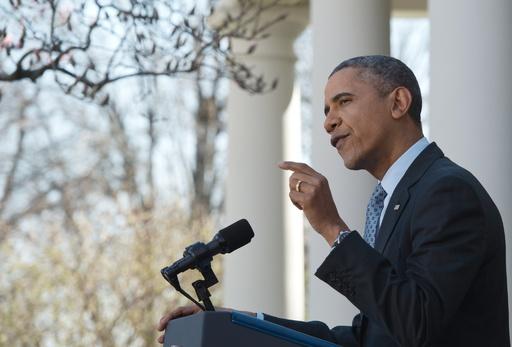 オバマケアで700万人が保険加入 米大統領、目標達成を称賛