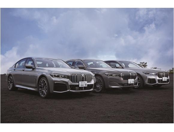新型BMW7シリーズにイッキ乗り!ぜんぶドライバーズ・カーです。