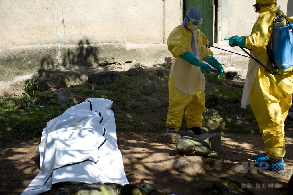 エボラ患者の血液サンプル盗まれる、ギニア