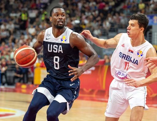 米国が連敗で7位決定戦へ、バーンズ「後悔はない」 バスケW杯