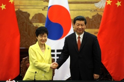 中韓首脳会談、朝鮮半島の非核化を確認