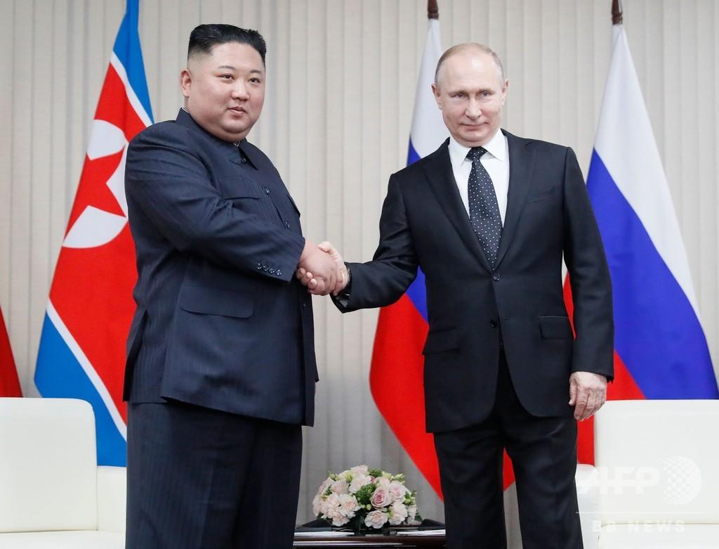 金正恩氏、プーチン氏との初会談は「非常に有意義」だった