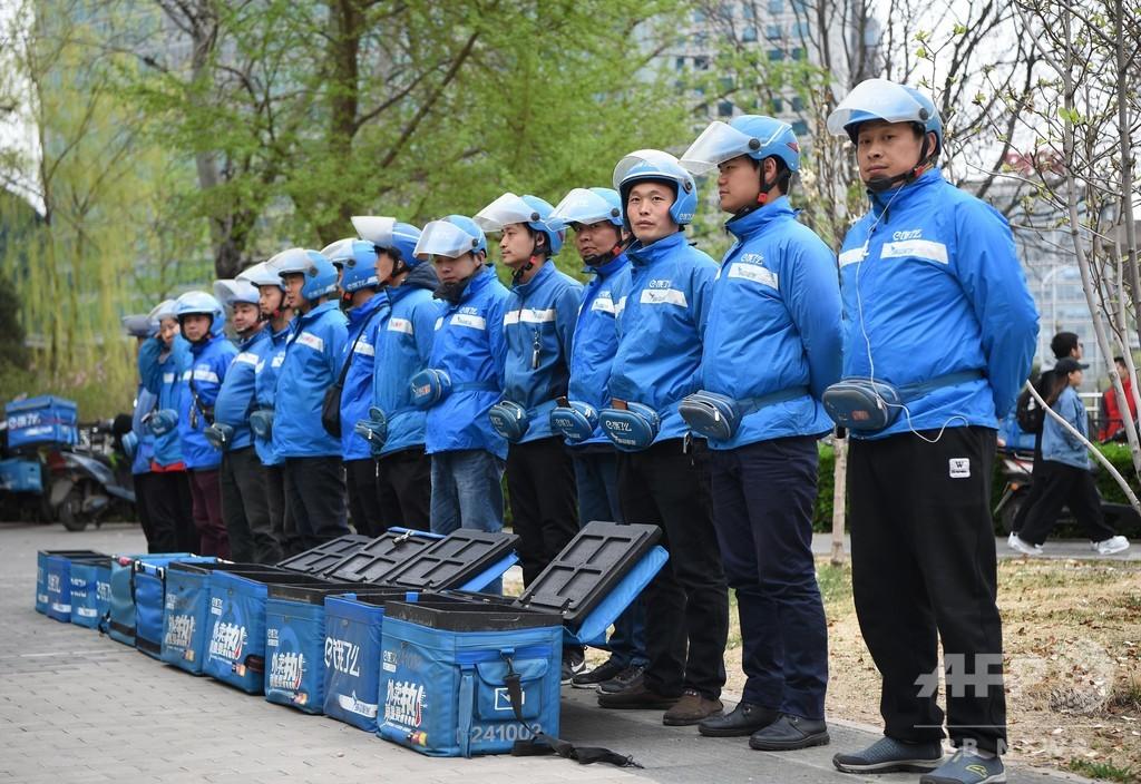 出前配達員の新たな使命は人命救助 武漢で8000人を訓練