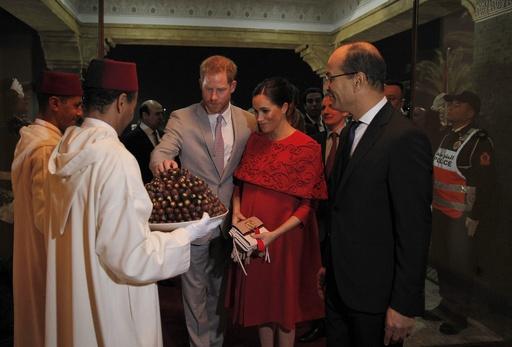 ヘンリー英王子とメーガン妃がモロッコへ、出産前最後の外国訪問