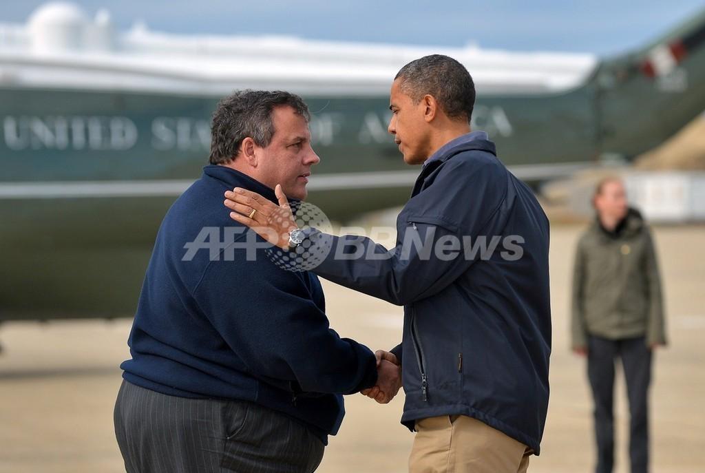 スリムなオバマ氏の次は太め大統領?米NJ州知事