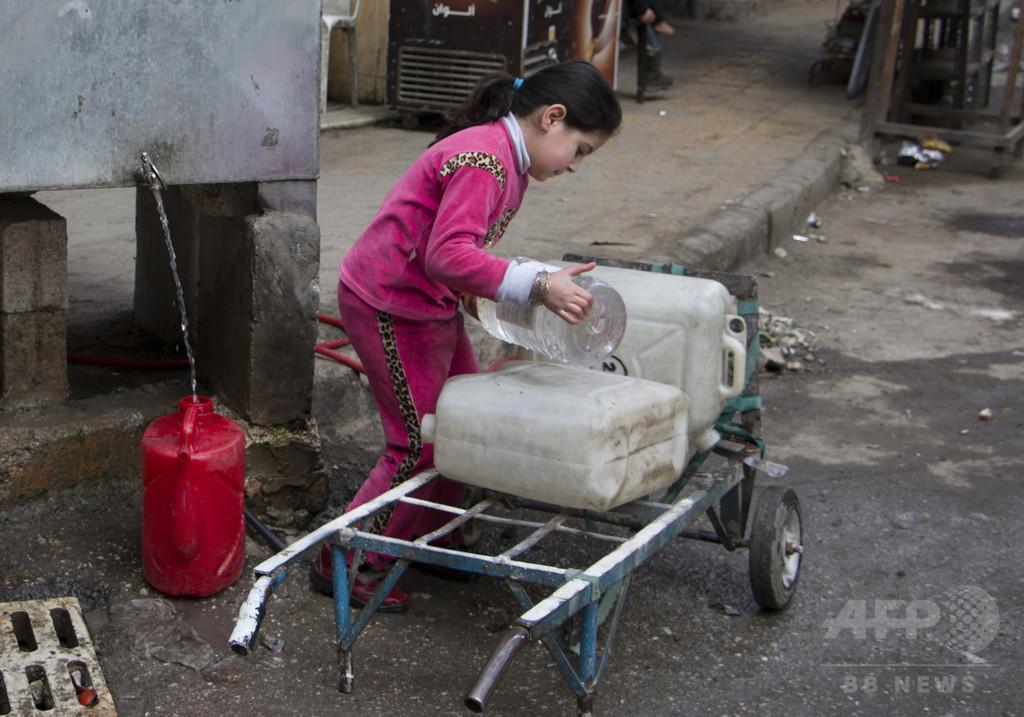 爆撃などにより約200万人への水供給が途絶 シリア北部アレッポ