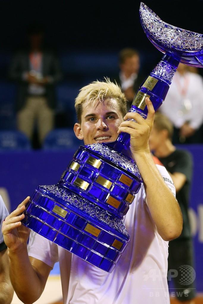 ティエム、ジョコビッチが見守る中で優勝 クロアチア・オープン
