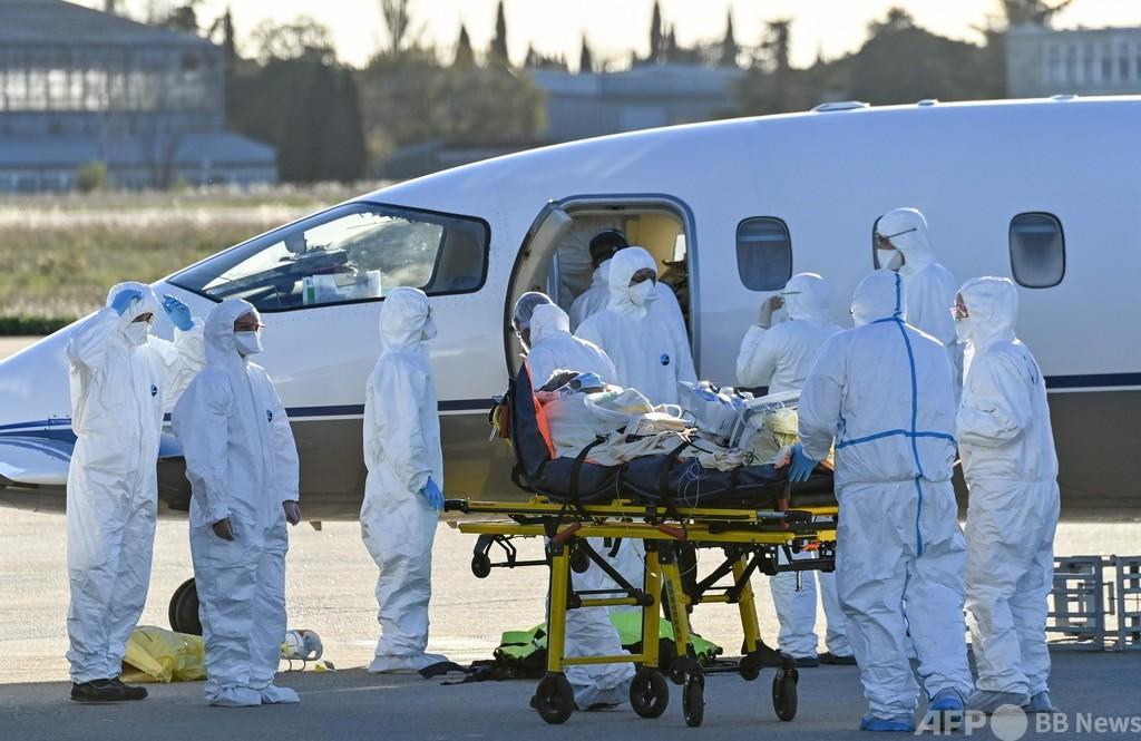 世界のコロナ新規感染者数、1日で過去最多の50万人超 AFP集計